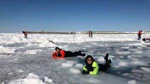 [รีวิว] เที่ยวฮอกไกโด เดินเล่นบนธารน้ำแข็ง ท้าหนาวที่อุณหภูมิ -19 องศา