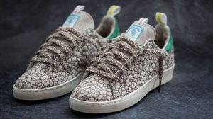 adidas รองเท้าวันกัญชาโลก Happy 420 รุ่นพิเศษทำจากต้นกัญชงธรรมชาติ