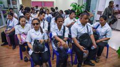 กลุ่มคนพิการ บุกกระทรวงแรงงาน โต้ไม่มีการโกงเงิน 1.5 พันล้าน