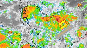 อุตุฯ ออกประกาศเตือน ฝนตกหนักบริเวณภาคใต้ ( 19 ต.ค.)