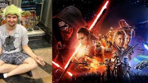 หนุ่มกีคขอพลังใจ ก่อนตาย…ให้ได้ดู Star Wars !