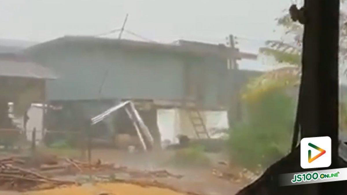 พายุฤดูร้อนถล่ม อ.ไพศาลี นครสวรรค์ บ้านเรือนประชาชนเสียหายกว่า100 หลังคาเรือน