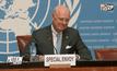ทูต UN ขอให้สหรัฐฯ-รัสเซีย เข้าร่วมเจรจาสันติภาพซีเรีย