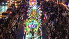 เทศกาลแห่ดาวคริสต์มาส หนึ่งเดียวในไทยที่ บ้านท่าแร่ จ.สกลนคร