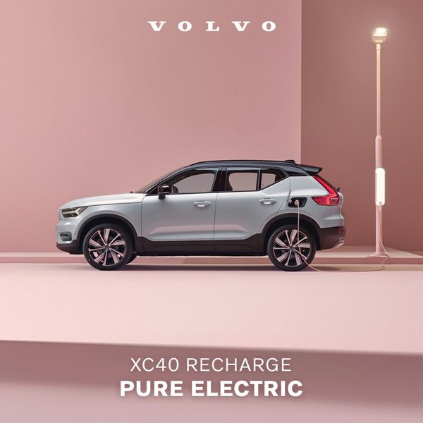 THE NEW VOLVO XC40 RECHARGE PURE ELECTRIC