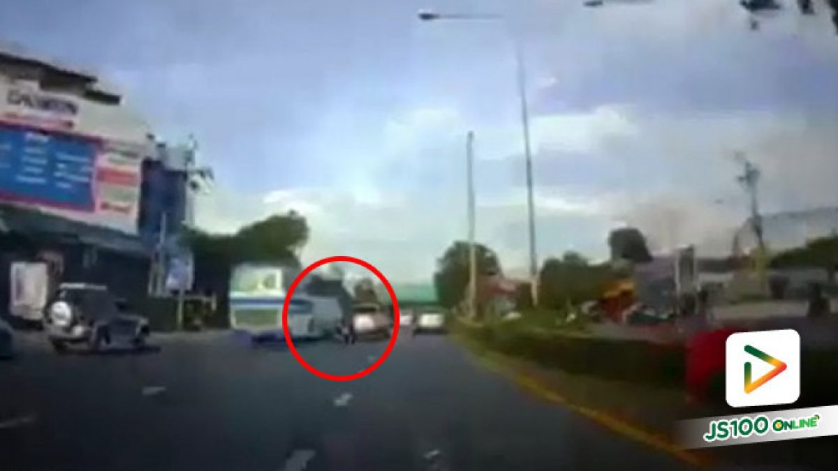 จยย.ล้มคว่ำบนถ.สิรินธร ใช้รถบนถนนต้องระมัดระวัง (20/08/2019)