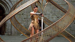 """ภาพล่าสุดของ """"Wonder Woman"""" จาก  """"Entertainment Weekly"""" ก่อนฉายจริง 1 มิ.ย. ปีหน้า"""