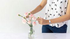 8 เทคนิคจัดดอกไม้ ให้บ้านสดใสแม้ในหน้าร้อน