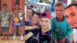 ONE พ่อแห่งชาติ : เผยภาพประทับใจ 10 นักมวยไทยชื่อดัง กับไออุ่นแห่งวันพ่อ