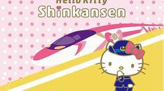 Hello Kitty Shinkansen รถไฟฟ้าสุดน่ารักลายฮาโหลคิตตี้!!