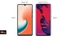 เผยความละเอียดหน้าจอ Huawei Mate 20 Pro จะมาพร้อมความละเอียด QHD+