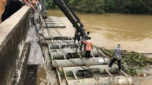 ชป. แจงกรณีเครื่องผลักดันน้ำในแม่น้ำปราจีนบุรีไม่ทำงาน