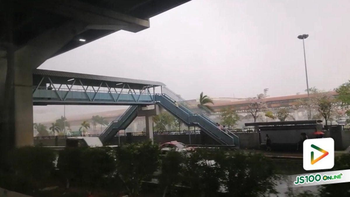 พายุฤดูร้อน ทำฝนตกลมแรงในพื้นที่เขตดอนเมือง และบริเวณใกล้เคียง (25-04-62)