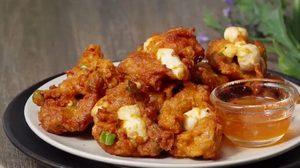 วิธีทำ ทอดมันไข่ปลาหมึก ไข่ปลาหมึกนุ่มๆ กับพริกแกงเผ็ด อร่อยกลมกล่อม