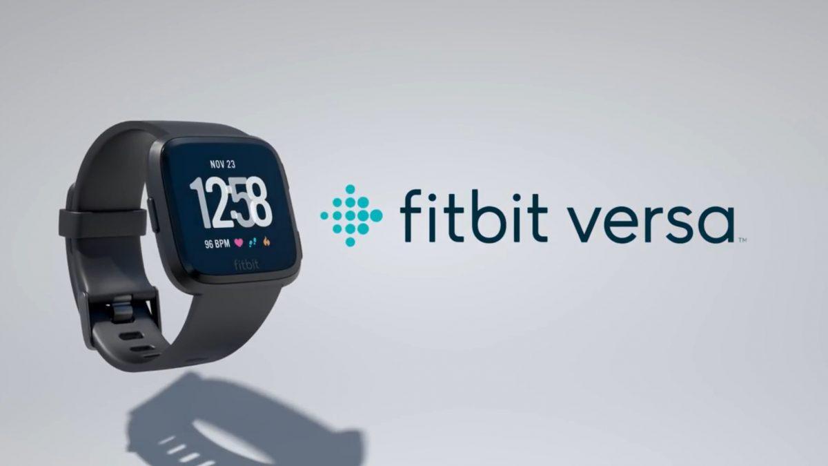 Fitbit Versa สมาร์ทวอทช์ ที่มาพร้อมกับหน้าปัดเพื่อการดูแลสุขภาพใหม่