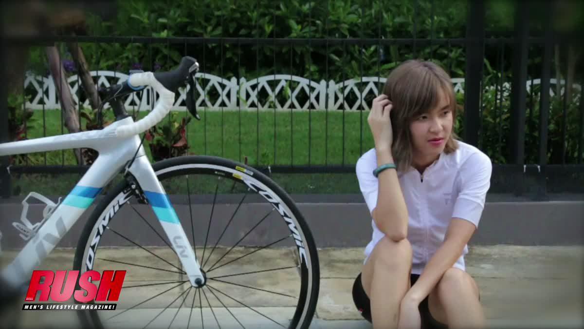 Spin Spin แพท ครรธรส วิริยสุนทร ผู้รักการปั่นจักรยานเป็นชีวิตจิตใจ