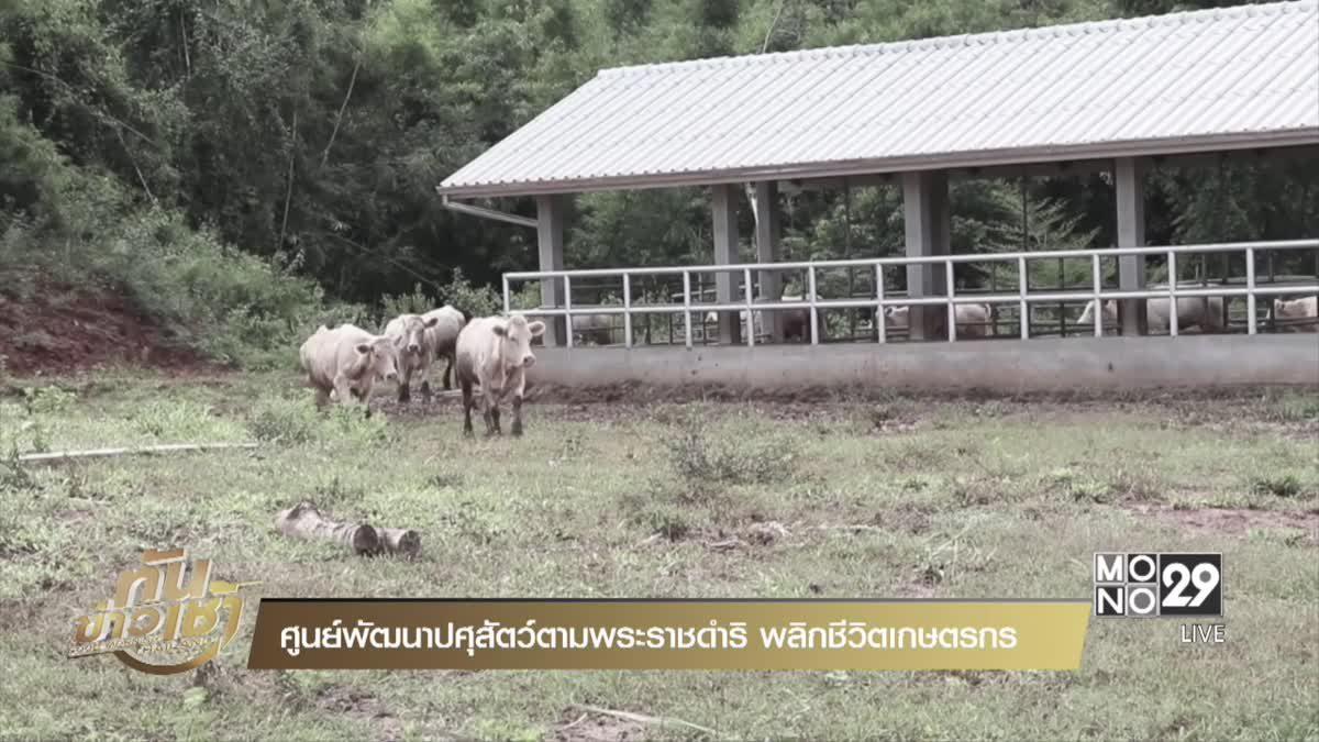 ศูนย์พัฒนาปศุสัตว์ตามพระราชดำริ พลิกชีวิตเกษตรกร