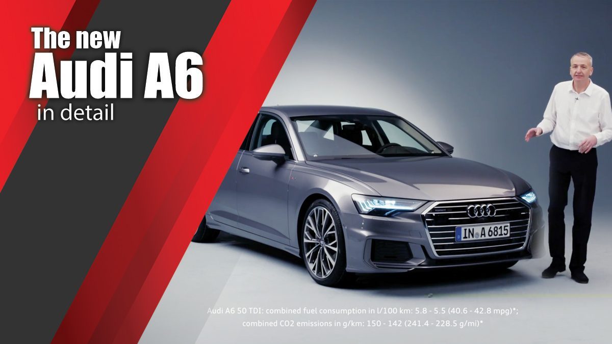 The new Audi A6 in detail