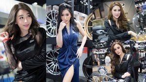 โค้งสุดท้าย Motor Expo 2018 กับความน่ารักของพริตตี้ในลุคสวยใสใจละลาย