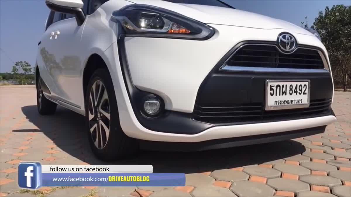 [Live] รีวิว Toyota Sienta 1.5L CVT ไลฟ์สด 7 ที่นั่งประตูสไลด์ไฟฟ้า