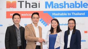 MThai & Mashable Get Hand-In-Hand in Thailand's Market