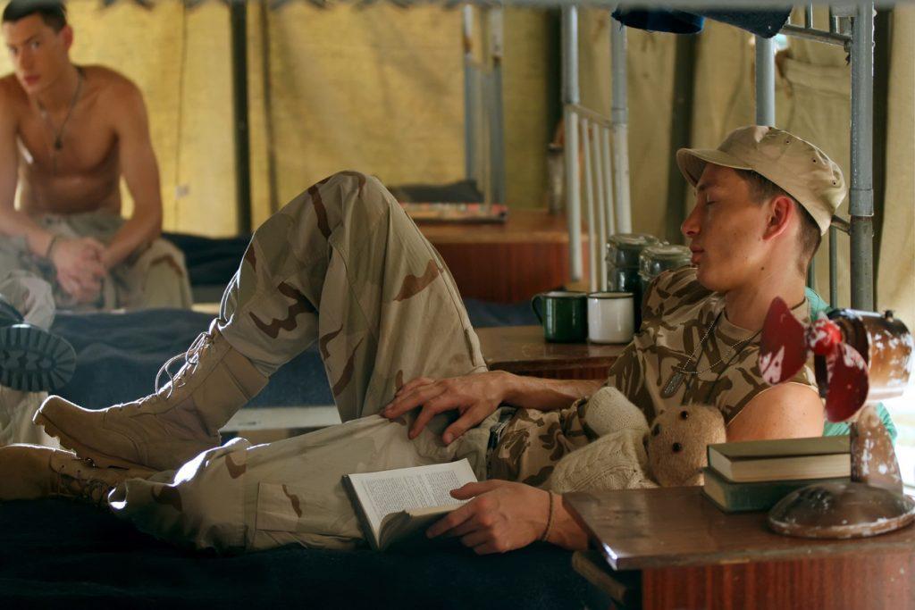 นอนหลับแบบทหาร