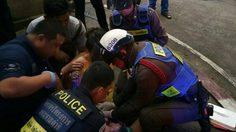 ชื่นชม! ตำรวจจราจร ช่วยหญิงคลอดลูก บน ถ.อรุณอัมรินทร์