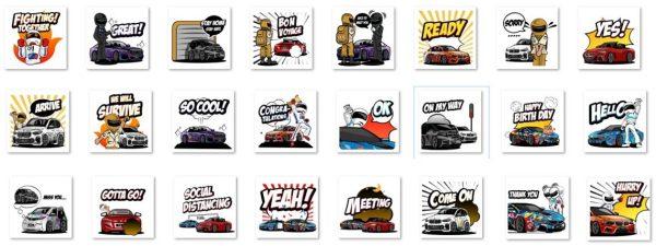 BME Sticker Set