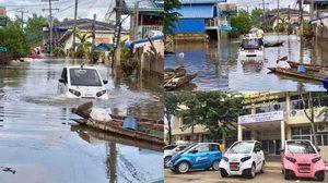 การไฟฟ้าฯ ส่งยานยนต์ไฟฟ้าขนาดจิ๋วลอยน้ำได้ ช่วยผู้ประสบภัย