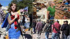 ยุคคาวบอยหรือเปล่า!? รัฐ เท็กซัส เริ่มใช้กฎหมายให้พกปืนในที่สาธารณะได้