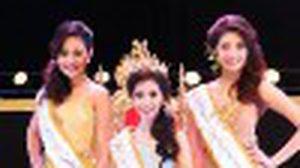 โฉมหน้า นางสงกรานต์ คนแรก แห่งประเทศไทย 2555 อาภาภัทร มีแสง