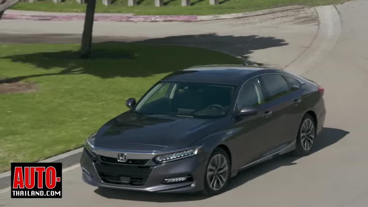 ทดลองขับ All-New Honda Accord Gen10 ทั้ง 2 เครื่องยนต์ที่จะมาขายบ้านเราที่สหรัฐอเมริกา