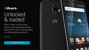 ZTE Blade V8 Pro ด้านหลังกล้องคู่ วางขายอย่างเป็นทางการแล้ว ราคาเพียง 8,000 บาท