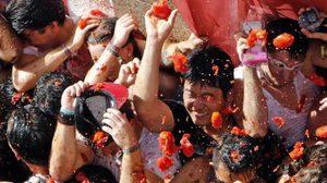 เอาให้เละ! เทศกาลปามะเขือเทศ ประเทศสเปน ปี 2016