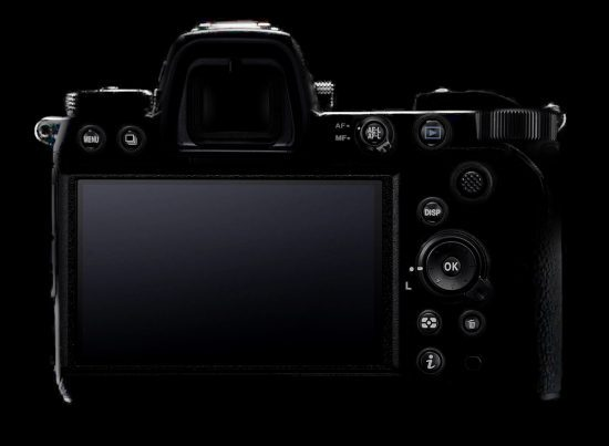 Nikon-Mirrorless Full frame ด้านหลัง