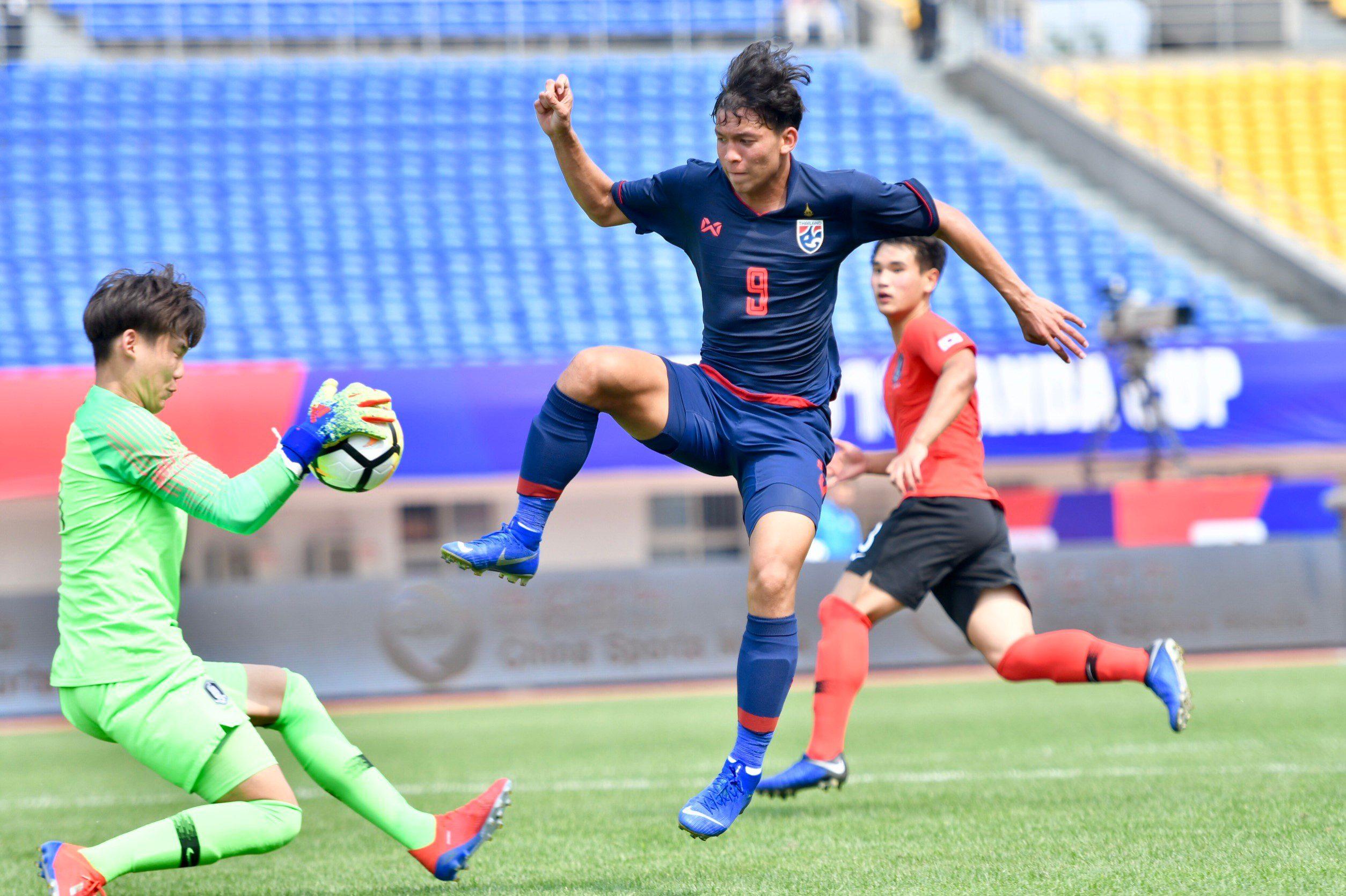 เสียประตูเร็ว! ช้างศึก U19 พ่ายเกาหลีใต้ 1-2  ประเดิมแพนด้า คัพ