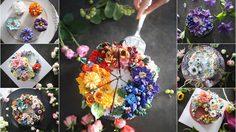 เค้กดอกไม้ น่ากินสุดๆ คนรักขนมไม่ควรพลาด !!