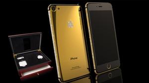 ใครกระเป๋าหนักเชิญ!! iPhone 7 24k Gold พร้อมประดับด้วยเพชรจาก Swarovski