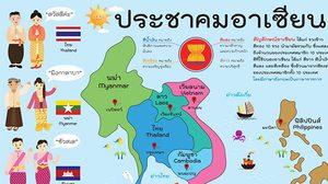สมาชิกอาเซียน 10 ประเทศ