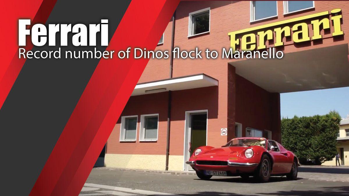 Ferrari - Record number of Dinos flock to Maranello