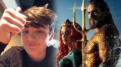 ผมกับเพื่อน ๆ ไปดูมาแล้ว!! นักแสดงเด็กจากหนัง Shazam! รีวิวสั้น ๆ ว่าชอบหนัง Aquaman