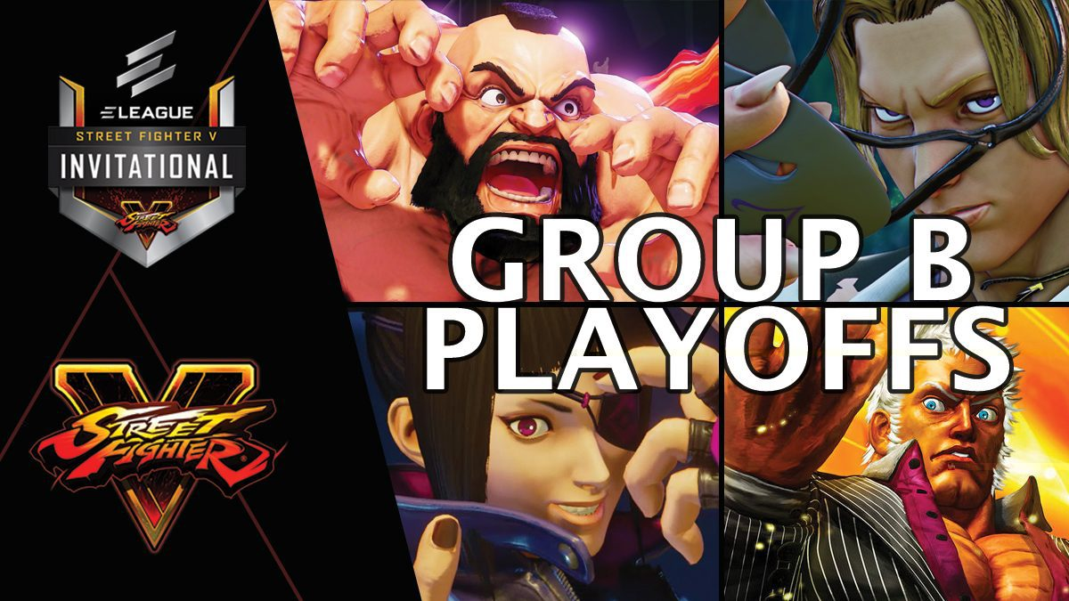 การแข่งขัน Street Fighter V Invitational 2018 | Group B [2/2]