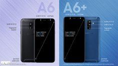 Samsung Galaxy A6 และ A6+ เผยสเปคหมดเปลือก ราคาเริ่มที่ 11,500 บาท
