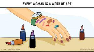 ใครจะ เข้าใจ เรามากกว่า ผู้หญิง ด้วยกัน 12 ภาพโดนใจ เล่าชีวิตแบบผู้ญิ้ง….ผู้หญิง