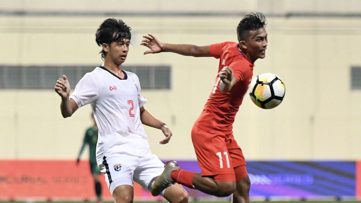 ผลบอล 'ทีมชาติไทย ยู-23' โดนทีเด็ดเจ้าภาพพ่าย 0-1 ชวดแชมป์เมอร์ไลออน คัพ
