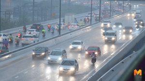 กรมอุตุฯ เผย กทม. ฝนตกเกือบครึ่ง เหนือกลางร้อนมีฝนฟ้าคะนอง