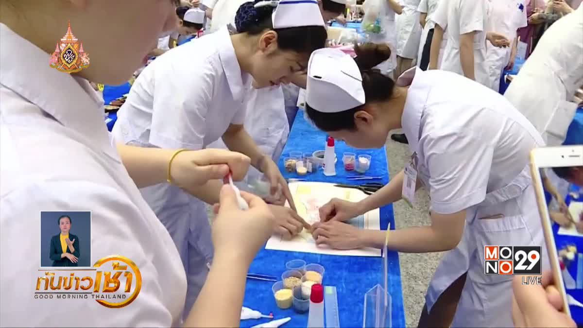 จีนจัดประกวดงานศิลปะฉลองวันพยาบาลสากล