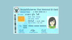ความหมายของ 13 ตัวเลข บนบัตรประชาชน