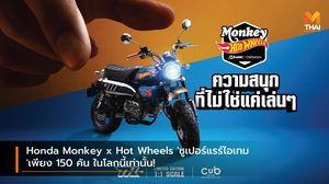 Honda Monkey x Hot Wheels 'ซูเปอร์แรร์ไอเทม' เพียง 150 คัน ในโลกนี้เท่านั้น!