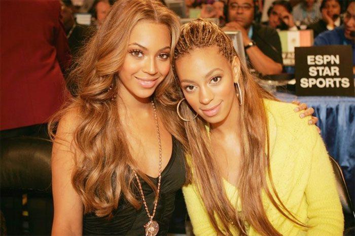 Beyonce กับน้องสาว Solange